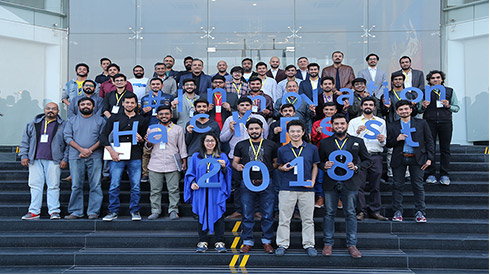 Featured Pakistan's top tech talent at Innovation Hack Fest 2018